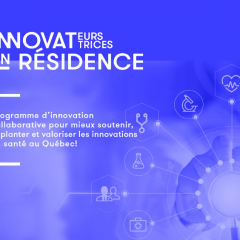 "Support, implement and promote health innovations with ""Innovators and Innovators in Residence"""