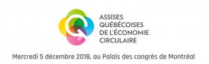 Assises québécoises de l'économi circulaire 2018