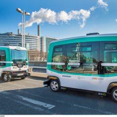 Des navettes autonomes testées pour franchir un pont de Paris