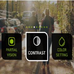 Une application de réalité virtuelle pour aider les malvoyants