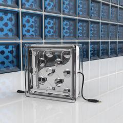 Cette brique de verre est un panneau solaire