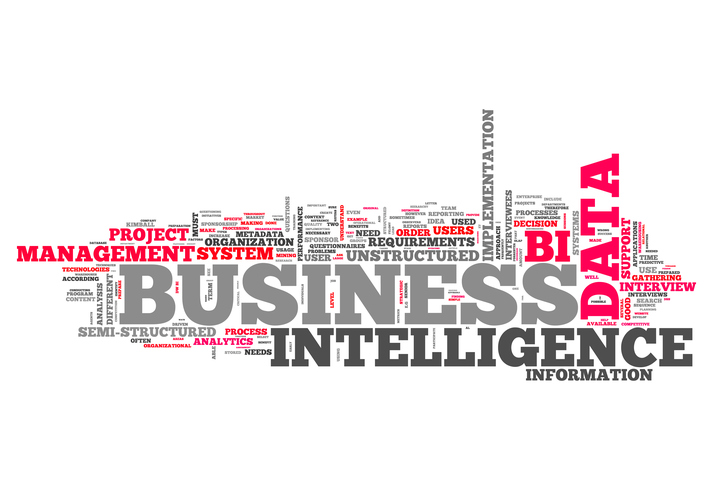 Word Cloud with Business Intelligence related tags