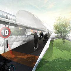 BMW imagine les routes de demain, pensées pour les vélos et les scooters électriques
