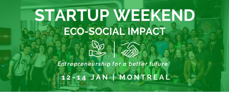 Startup Weekend ECO-SOCIAL IMPACT_2018