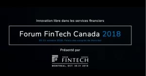 Forum FinTech Canada 2018