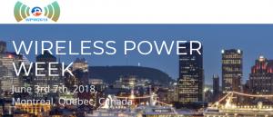 Wireless Power Week 2018