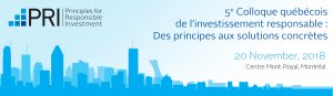Colloque Invest responsable