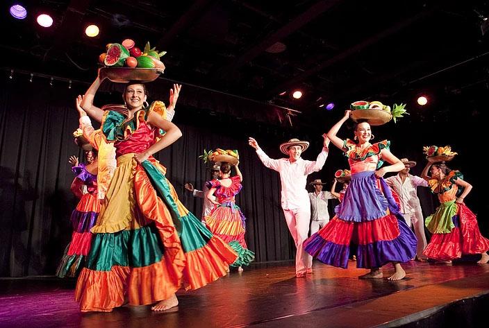 Spectacle de la troupe Ballet Raíces de Colombia