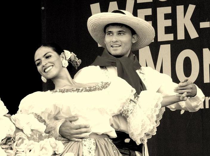 Couple qui danse