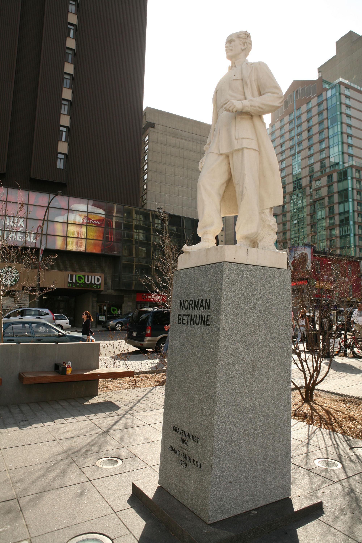Statue de Norman Bethune