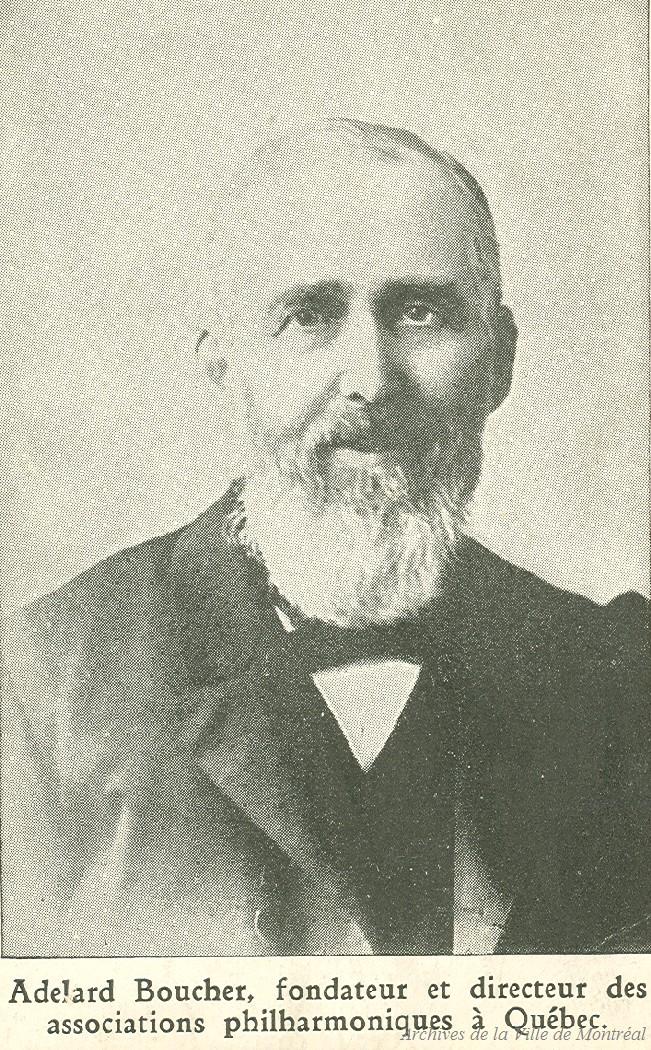 Portrait d'Adélard-Joseph Boucher.