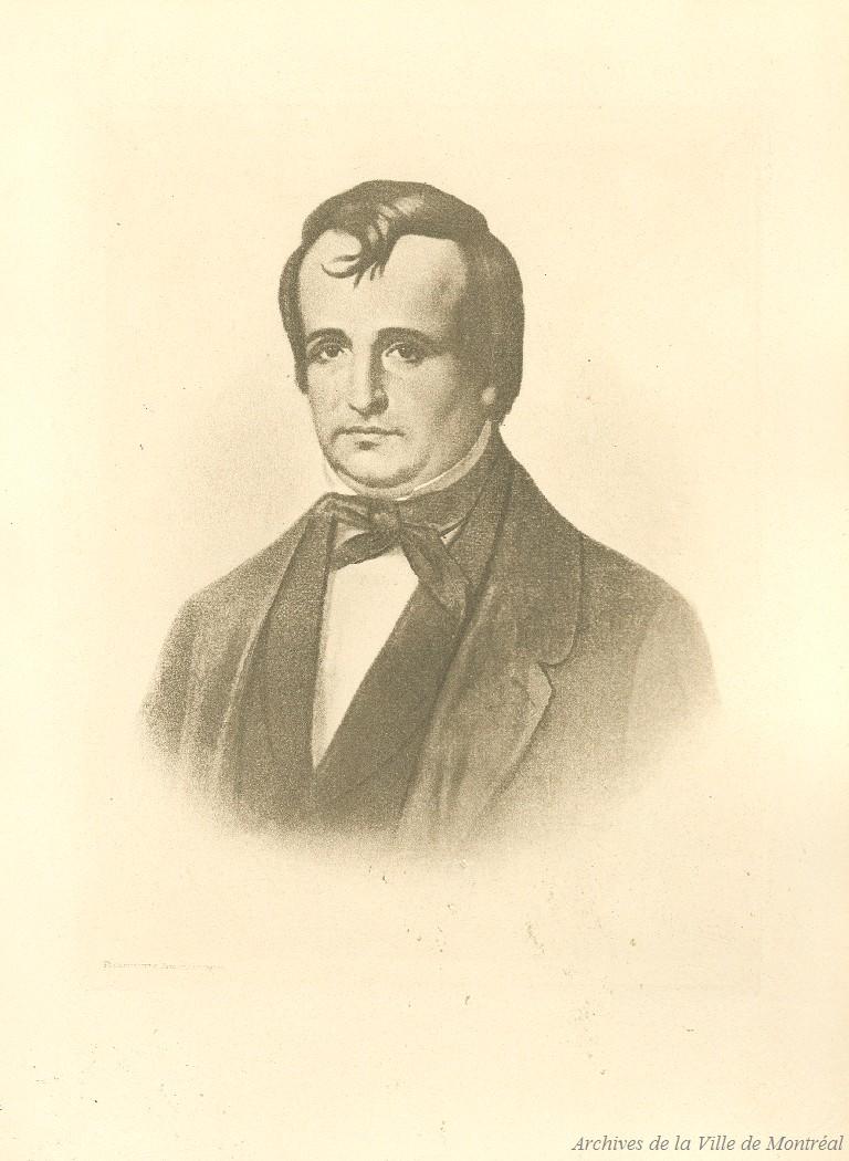 Portrait de Sir Louis-Hippolyte Lafontaine