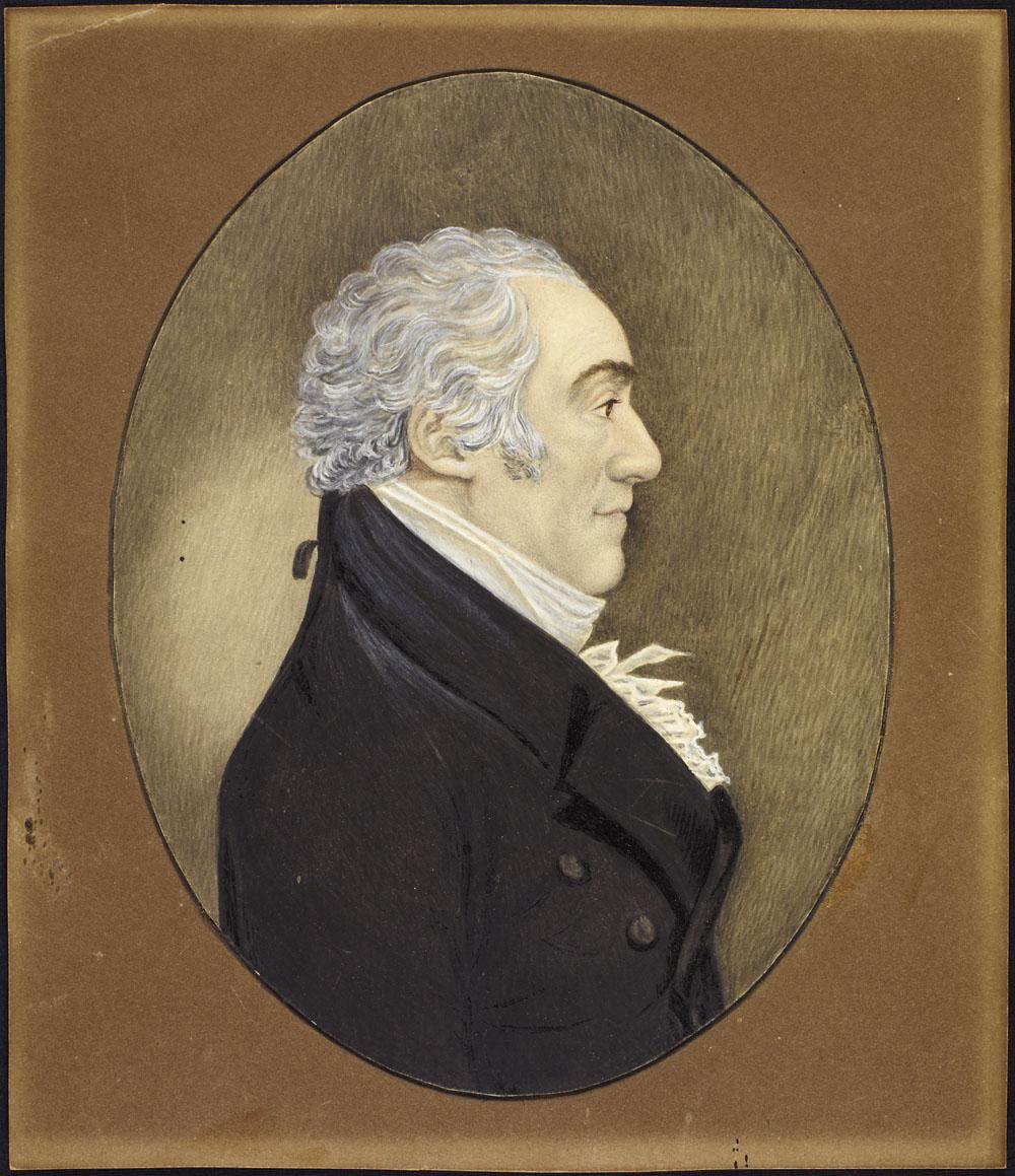 Portrait de John Richardson.