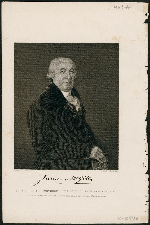Portrait de James McGill