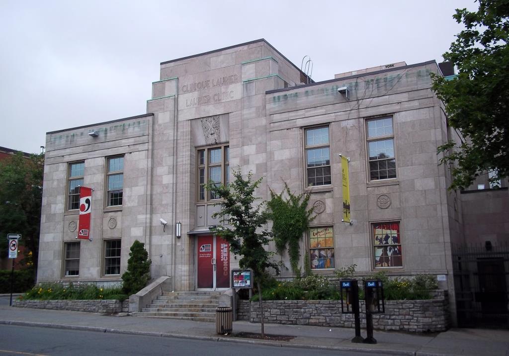 Photo contemporaine d'un bâtiment de pierre, de style Art déco.