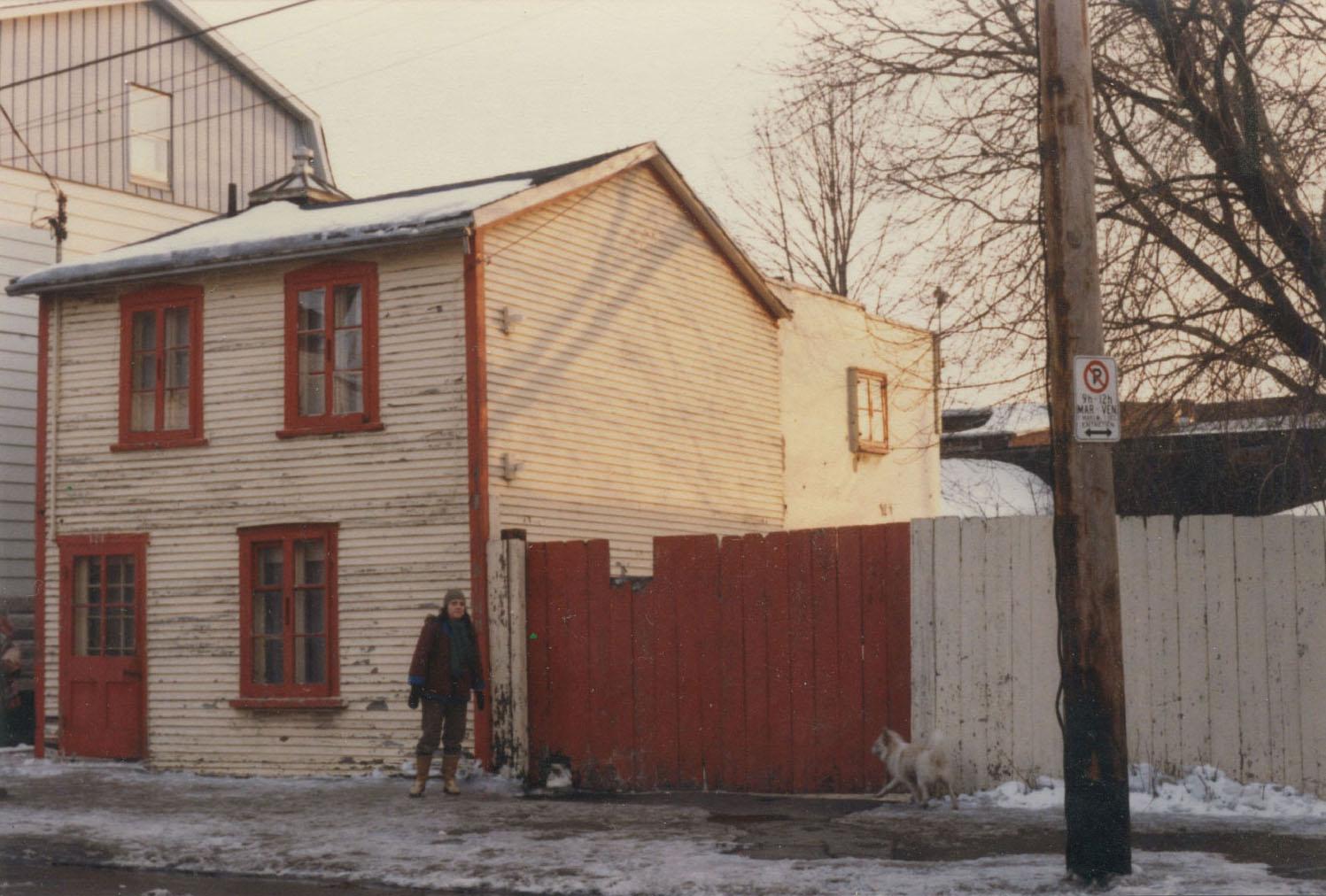 La maison Déloche avant sa restauration