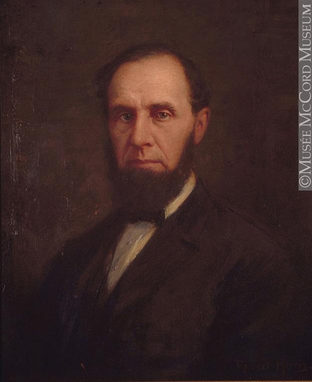 Portrait couleur de James Morgan