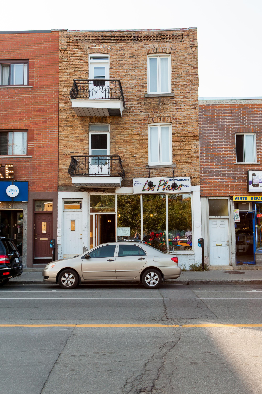 Restaurant salvadorien sur la rue Bélanger