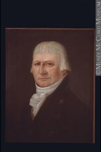 Peinture représentant Joseph Frobisher