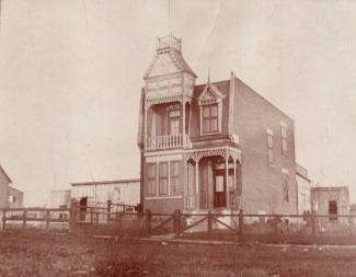 Maison de l'avenue Maplewood où s'installent les Sœurs Missionnaires en 1902.