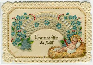 Carte de souhait Joyeuses fêtes de Noël