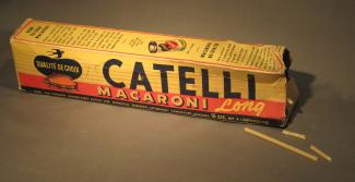 Boîte de macaronis Catelli.