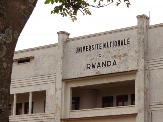 Façade de l'Université nationale du Rwanda