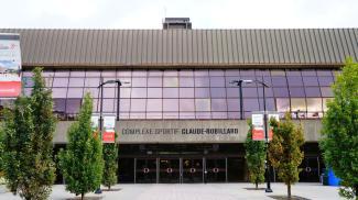Entrée du complexe sportif Claude-Robillard