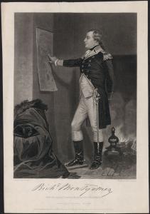 Gravure du major-général Richard Montgomery