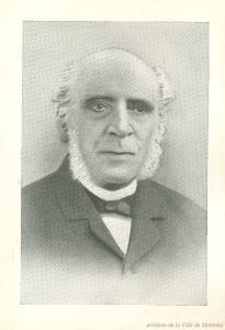 Portrait de William Collis Meredith à la fin du XIXe siècle.