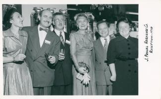 En 1950, les Pascal inaugurent la nouvelle succursale agrandie de la rue Craig.