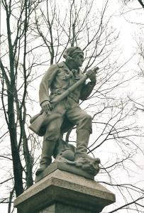 Photographie du monument aux Patriotes.