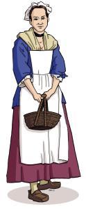 Illustration de Marie-Louise Poirier dite Lafleur