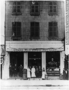 Hôtel d'Italie, rue Craig, en face du Champ-de-Mars