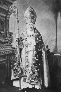 Ignace Bourget en vêtement liturgique