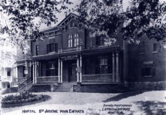 Maison qui a abrité le deuxième hôpital Sainte-Justine