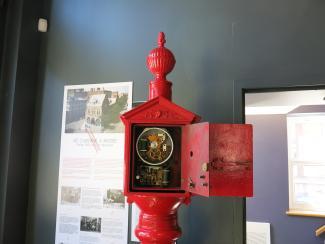 Mécanisme de la boîte d'appel d'incendie