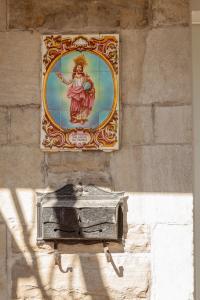 Azulejo religieux, Plateau-Mont-Royal.