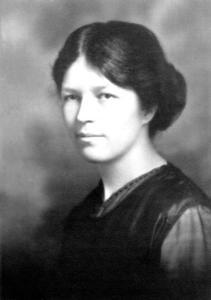 Photo de Marie Gérin-Lajoie en 1922.