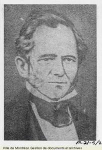 Portrait buste dessiné de John Easton Mills