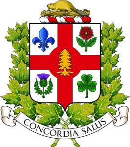 Nouvelles armoiries de Montréal intégrant un pin blanc