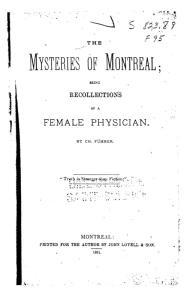 Couverture du livre de Charlotte Führer, édition de 1881.