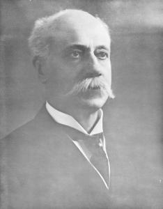 Portrait buste du docteur Emmanuel Persillier Lachapelle.