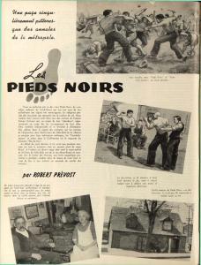 Page intérieure de la Revue Moderne de septembre 1943