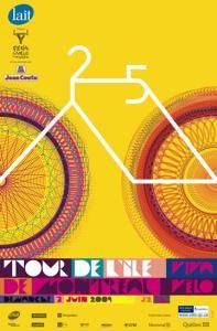 Affiche du Tour de l'Île 2009