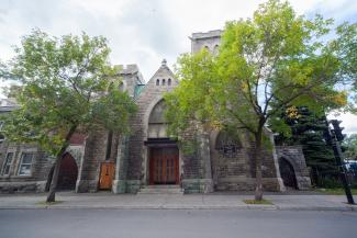 Le bâtiment de la Union United Church