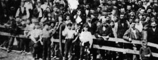 Enfants travaillant à la manufacture Macdonald Tobacco en 1877