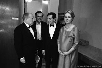 Pierre Dupuy, Pierre Hétu, André Prévost et Michèle Lalonde