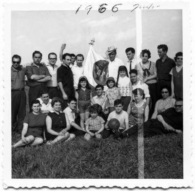 Membres de l'Associação Portuguesa do Canada (APC) en 1966