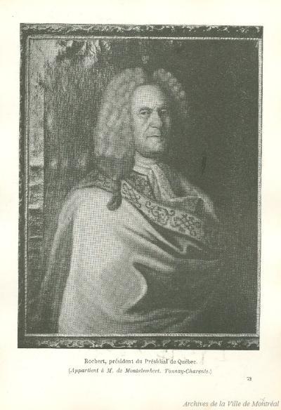 Portrait d'Étienne Rocbert de la Morandière
